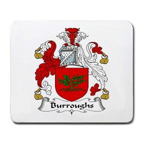 Burroughs Coat of Arms Mouse Pad