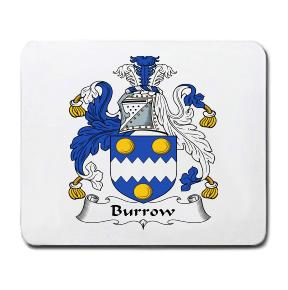 Burrow Coat of Arms Mouse Pad