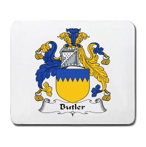 Butler Coat of Arms Mouse Pad
