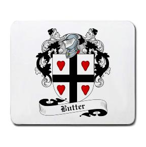 Butter Coat of Arms Mouse Pad