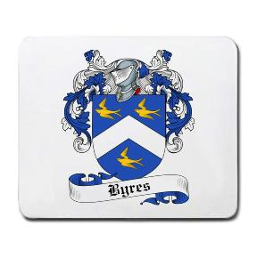 Byres Coat of Arms Mouse Pad
