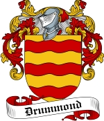 Drummond Family Crest / Drummond Coat of Arms JPG Download