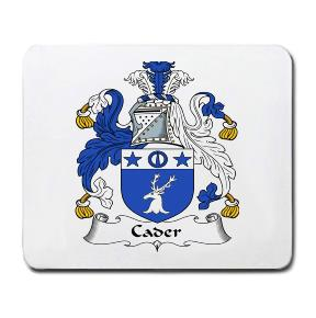 Cader Coat of Arms Mouse Pad
