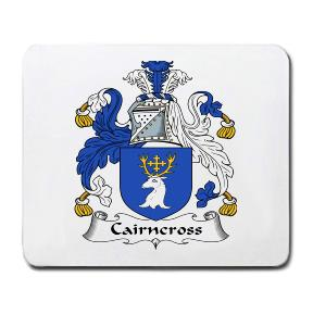 Cairncross Coat of Arms Mouse Pad