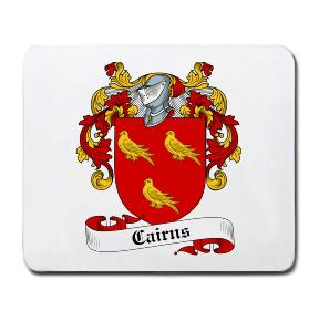 Cairns Coat of Arms Mouse Pad