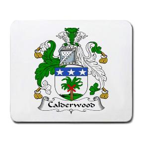 Calderwood Coat of Arms Mouse Pad