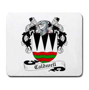 Caldwell Coat of Arms Mouse Pad