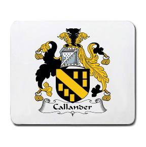 Callander Coat of Arms Mouse Pad