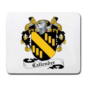 Callender Coat of Arms Mouse Pad