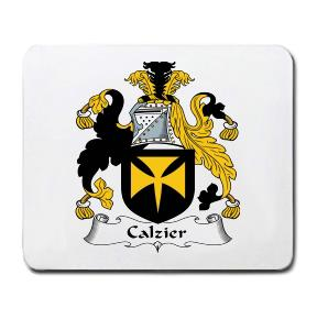 Calzier Coat of Arms Mouse Pad
