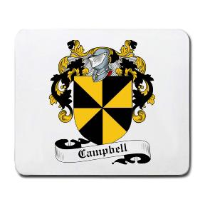 Campbell Coat of Arms Mouse Pad