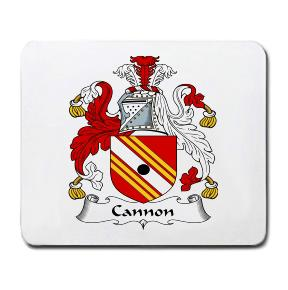 Cannon Coat of Arms Mouse Pad