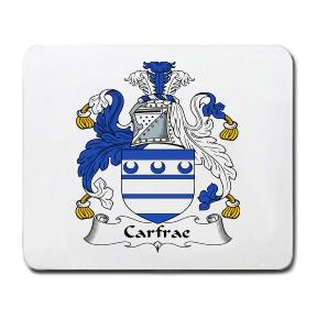 Carfrae Coat of Arms Mouse Pad