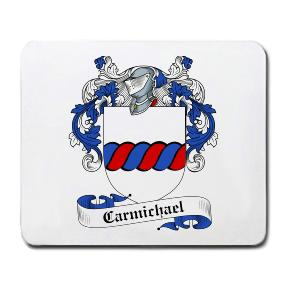 Carmichael Coat of Arms Mouse Pad