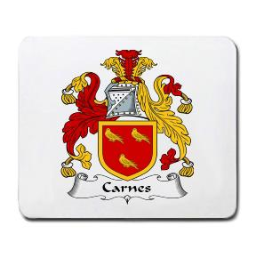 Carnes Coat of Arms Mouse Pad