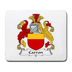 Carron Coat of Arms Mouse Pad