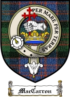 Maccarron Clan Badge / Tartan FREE preview