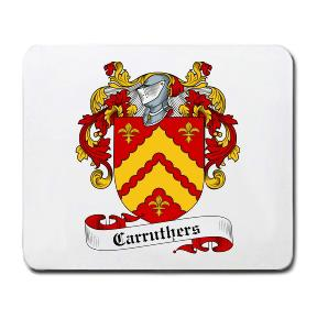 Carruthers Coat of Arms Mouse Pad