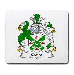 Carse Coat of Arms Mouse Pad