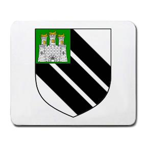 Carvile Coat of Arms Mouse Pad