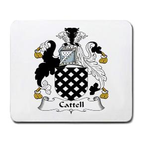 Cattell Coat of Arms Mouse Pad