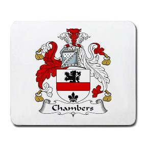 Chambers Coat of Arms Mouse Pad