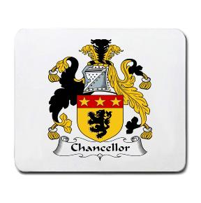 Chancellor Coat of Arms Mouse Pad