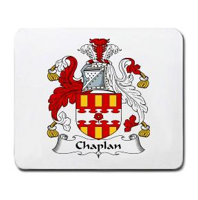 Chaplan Coat of Arms Mouse Pad