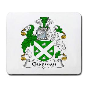 Chapman Coat of Arms Mouse Pad