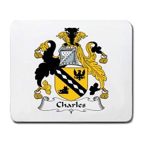 Charles Coat of Arms Mouse Pad