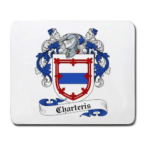 Charteris Coat of Arms Mouse Pad