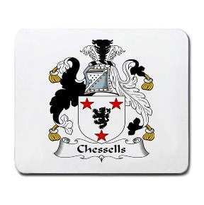 Chessells Coat of Arms Mouse Pad