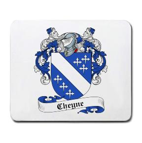Cheyne Coat of Arms Mouse Pad