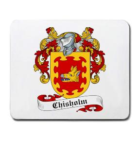 Chisholm Coat of Arms Mouse Pad