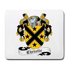 Christie Coat of Arms Mouse Pad