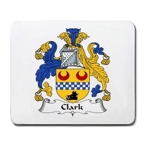 Clark Coat of Arms Mouse Pad