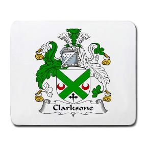 Clarksone Coat of Arms Mouse Pad