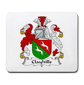 Clayhills Coat of Arms Mouse Pad