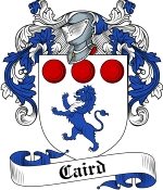 Caird Family Crest / Caird Coat of Arms JPG Download