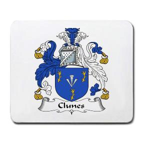 Clunes Coat of Arms Mouse Pad