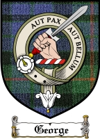 George Clan Badge / Tartan FREE preview
