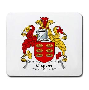 Clyton Coat of Arms Mouse Pad