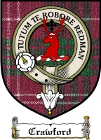 Crawford Clan Lindsay Clan Badge / Tartan FREE preview