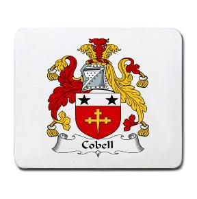 Cobell Coat of Arms Mouse Pad