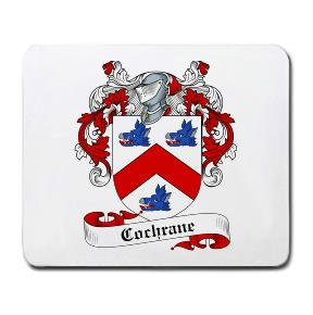 Cochrane Coat of Arms Mouse Pad