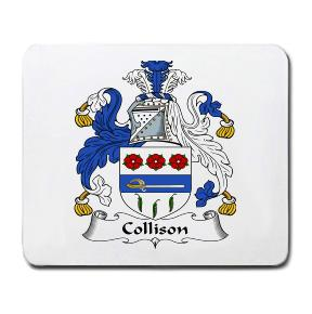 Collison Coat of Arms Mouse Pad
