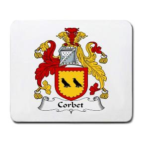 Corbet Coat of Arms Mouse Pad