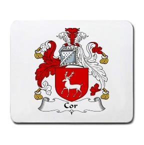 Cor Coat of Arms Mouse Pad