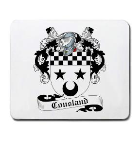 Cousland Coat of Arms Mouse Pad