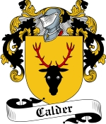 Calder Family Crest / Calder Coat of Arms JPG Download